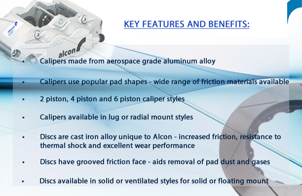 Alcon Features and Benefits